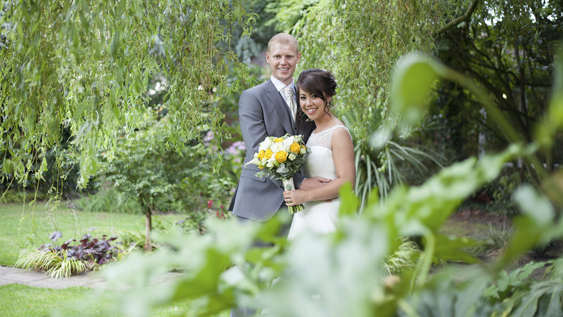 Wonderful garden wedding venues in Lancashire Barton Grange Hotel