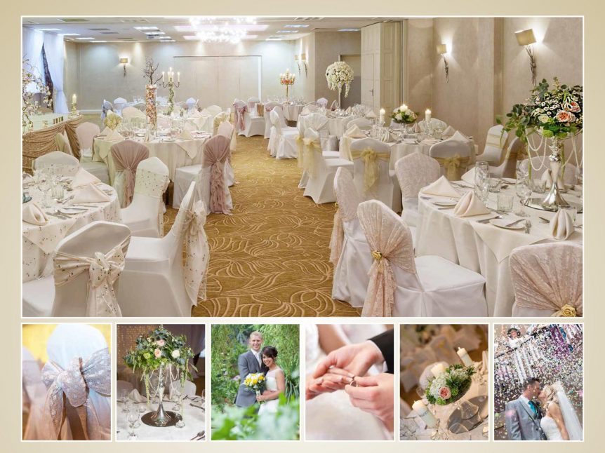 Stepping Down The Aisle at Barton Grange Hotel Preston SQUARE VE