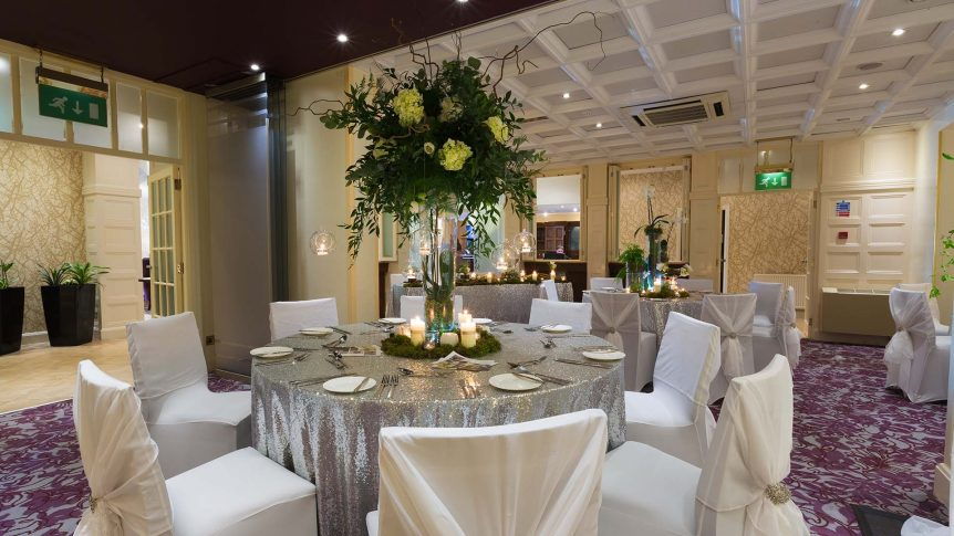 Grange Room weddings at Barton Grange Hotel Lancashire