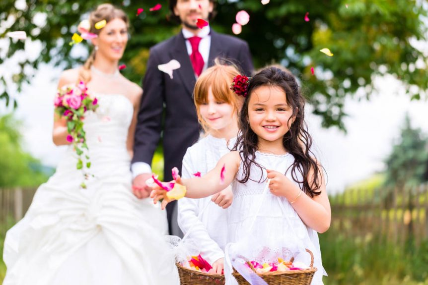 children Weddings Lancashire