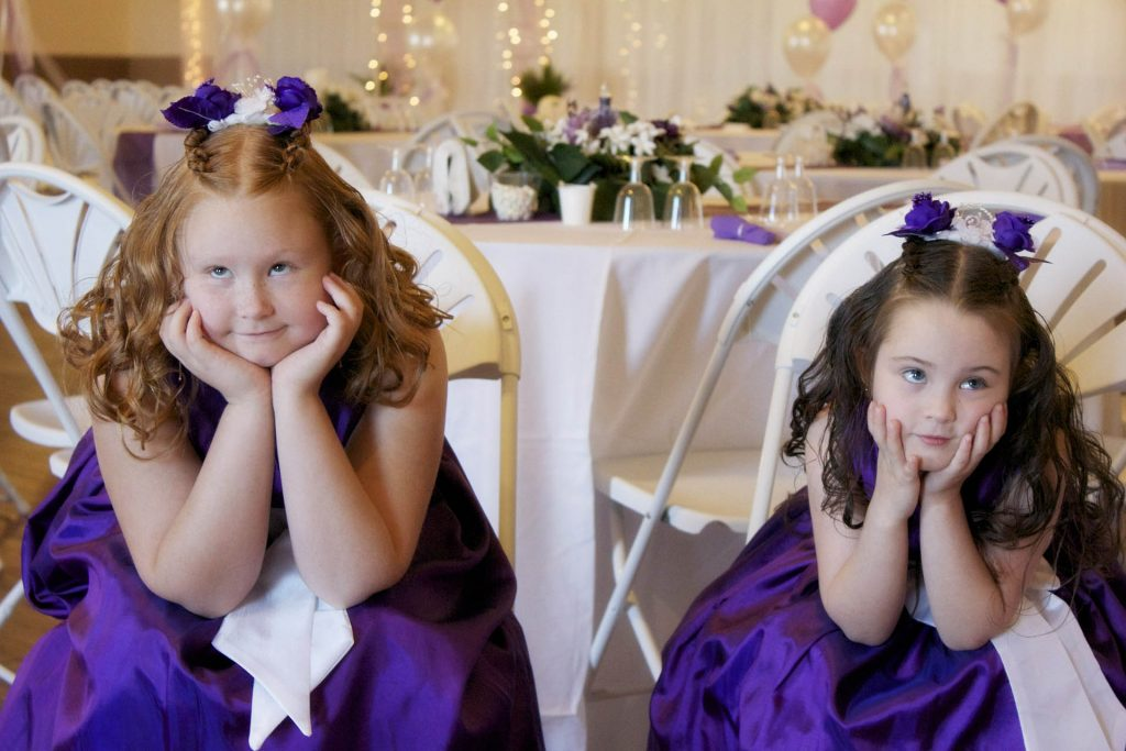 What to do with Children at weddings
